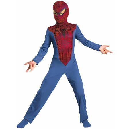 Amazing Costumes (Marvel Boys The Amazing Spider-Man Halloween Costume Medium)