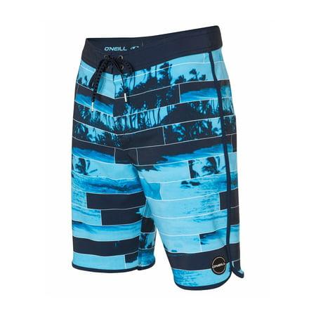 3d179053e2 O'Neill Mens Hyperfreak Swim Bottom Board Shorts castaway 32 - image 1 ...