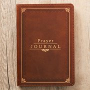 Prayer Journal Lux-Leather W/ Scripture/Prayers (Hardcover)