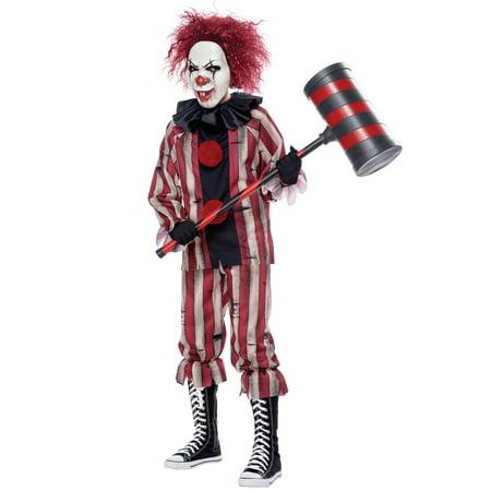Scary Halloween Clown Makeup (Child Nightmare Clown Scary Halloween)