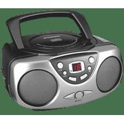 Sylvania SRCD243M Portable CD Boom Box with AM/FM Radio - Black