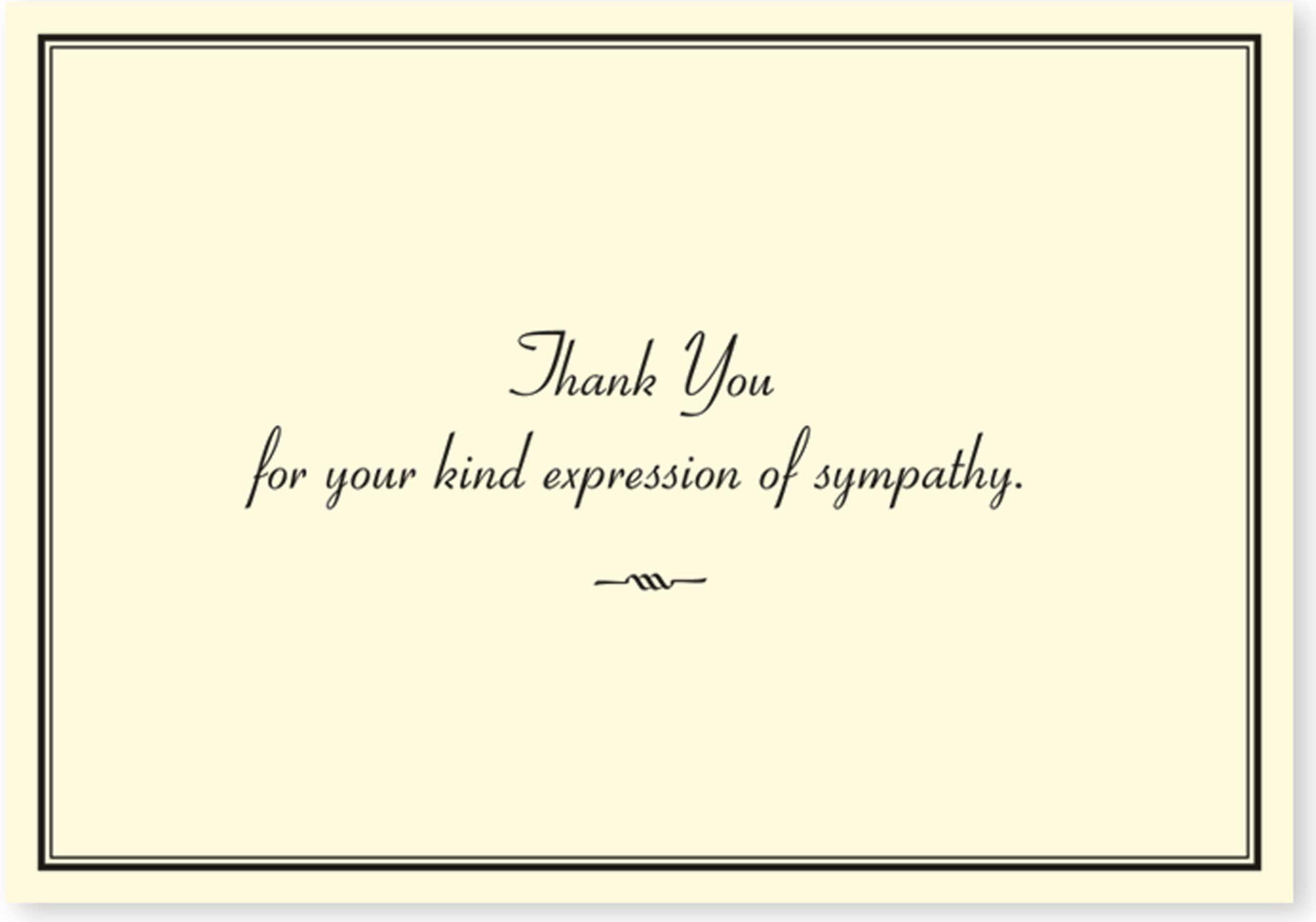 Sympathy thank you notes walmart izmirmasajfo Choice Image