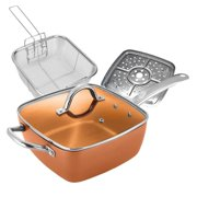 """Best As Seen On TV Clothes Steamers - Award Winning Copper Ceramic Square 10"""" Non-Stick Ceramic Review"""
