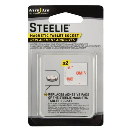 Nite Ize Steelie Kit Magnetic Tablet Socket Replacement Adhesive (Nite Gift)