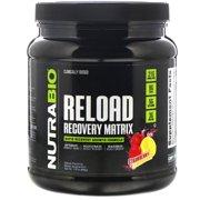 NutraBio Labs Reload Recovery Matrix, Strawberry Lemon Bomb, 1.91 lb (868 g)