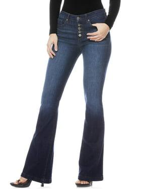 Sofia Jeans Melisa Flare Release Hem High Waist Stretch Jean Women's
