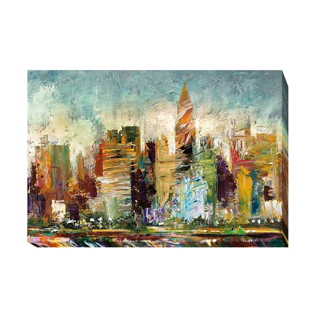 Metropolis by Bruce Marion Premium Gallery-Wrapped Canvas Giclee Art - Ready to Hang, 24 x 36 x 1.5 in. - image 1 of 1