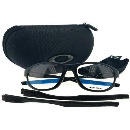 Oakley OX8048-0156 Crosslink Men's Black Frame Clear Lens Eyeglasses New In Box ()