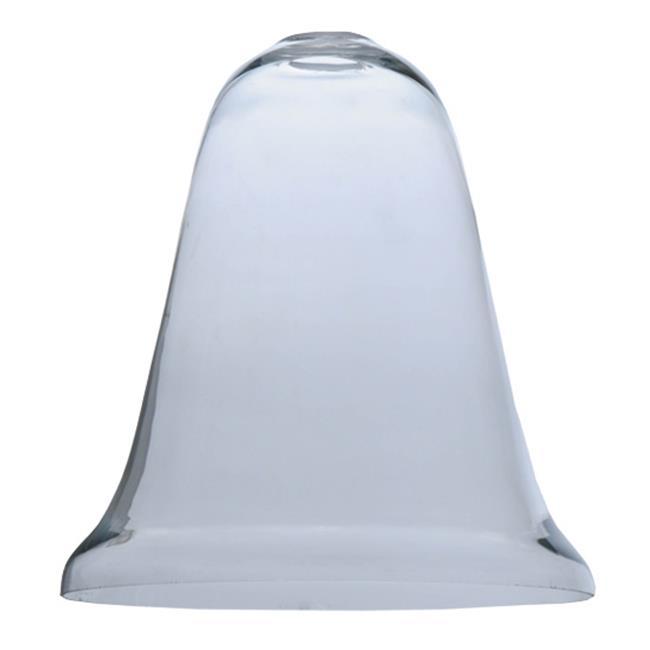 Meyda Lighting 12'H Custom Blown Glass Replacement Shade, Clear - 128231