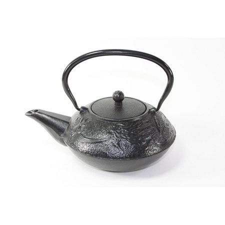 24 fl oz Black Dragon Japanese Cast Iron Teapot Tetsubin Infuser EHD (Dragon Yixing Teapot)