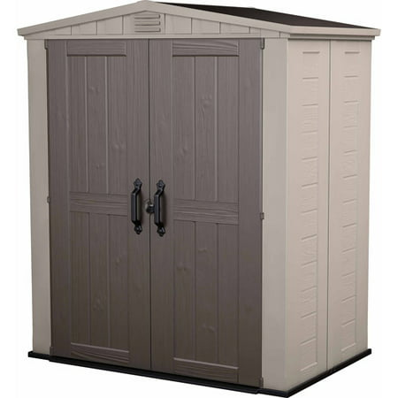 Keter Factor 6' x 3' Resin Storage Shed,