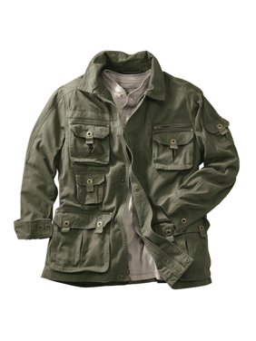 b1f0ad3c00e Product Image Boulder Creek Men's Big & Tall Boulder Creek Multi-pocket  Twill Jacket