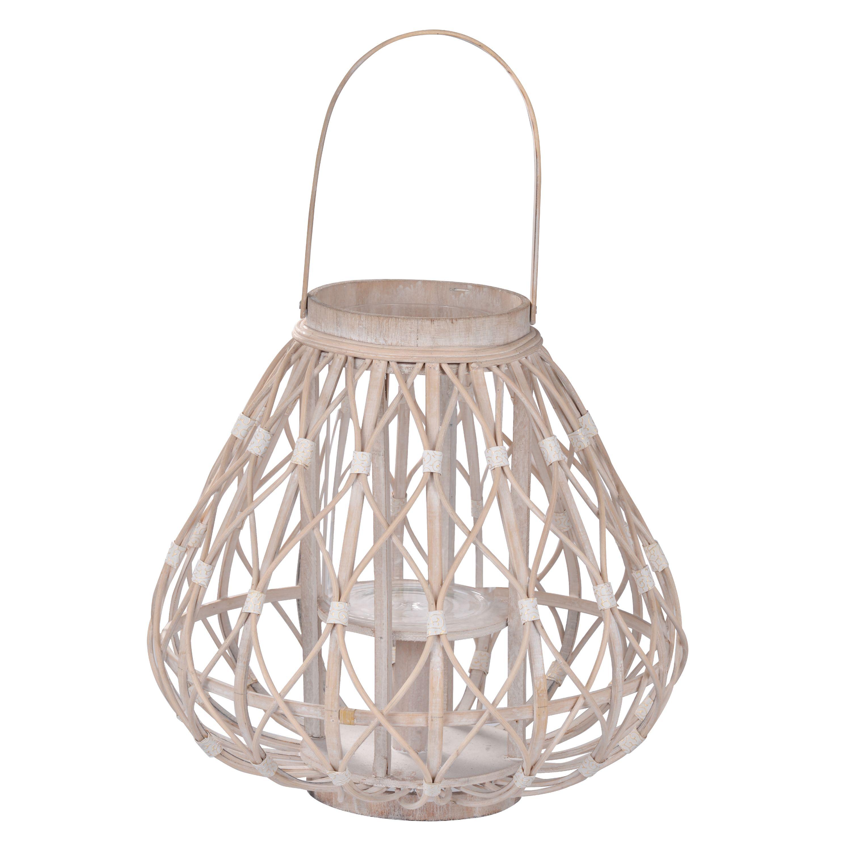 A&B Home Rattan Lantern