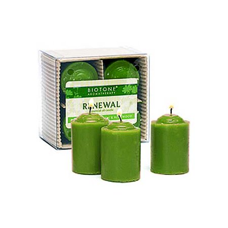 Serenity Gel Candle (Biotone Essential Oil Votive Candles -)