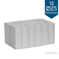Georgia-Pacific Pacific Blue Select 2-Ply C-Fold Paper Towels, Centerfold Towels, 23000, 120 Towels per Pack, 12 Packs per Case