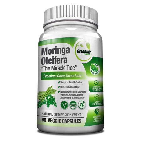 Pure Moringa Oleifera Leaf Extract - Green Ganga Leaf