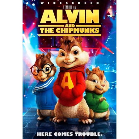 Alvin and the Chipmunks Movie Poster (27 x 40)