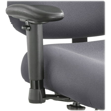 Safco, Optimus Big and Tall Chair Arm Kit, 2 / Pair, Black ()
