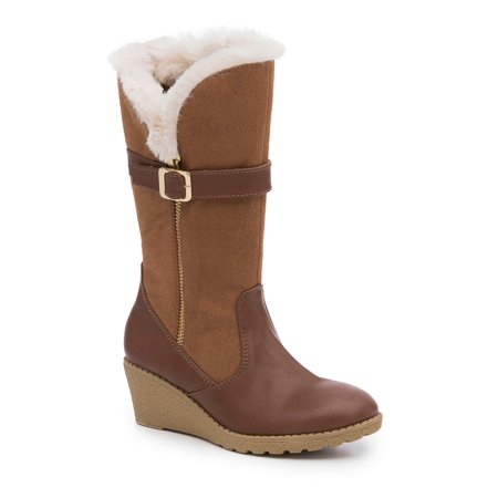 Rachel Shoes Girls' Romina Tall Fashion Wedge Boot