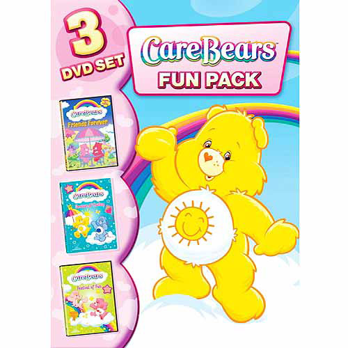 Care Bears: Fun Pack - 3 DVD Set: Friends Forever / Season Of Caring / Festival Of Fun (Full Frame)