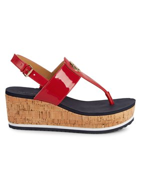 05babcb1c5 Product Image Gunther Cork Wedge Sandals
