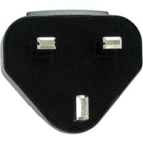 Blackberry International Power Adapter Clips (OEM BlackBerry Charger UK International Adapter Clip)