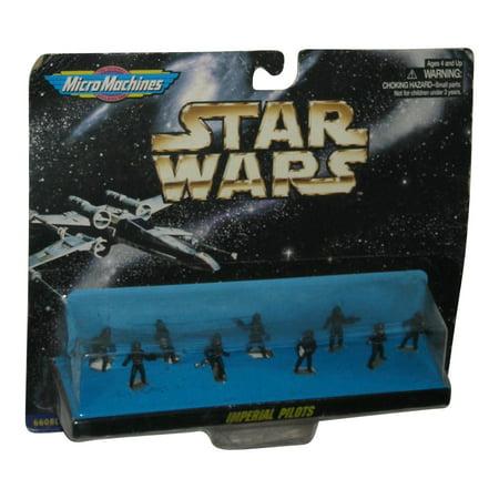 Star Wars Micro Machines Imperial Pilots Mini Figure Galoob Toy Set