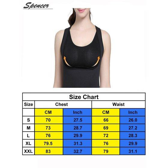 57763a1d51 SPENCER - Spencer Women Body Shaper Waist Trainer Cincher Slim Yoga Corset  Vest Slimming Shapewear