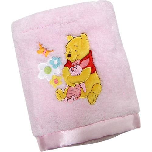 Disney - Pooh Dreamy Plush Blanket, Pink