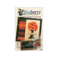 Blueberry Backroads Gratitude Ptrn