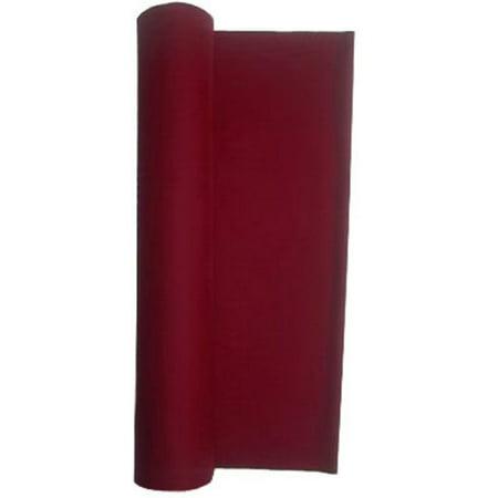 Performance Grade Pool - Billiard Cloth - Felt For An 8 Foot Table Burgundy ()