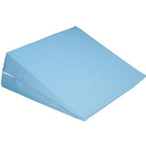 Hermell Cover For Bed Wedge Pillow Blue 24 X 24 X 10 Inch Pillow