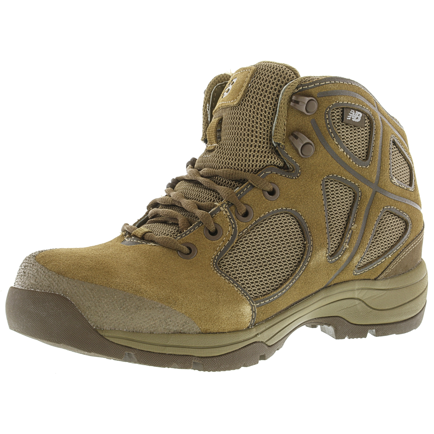 New Balance Men's Rappel Brown Ankle-High Fabric Hiking Boot - 7.5W