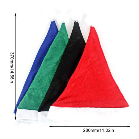 Christmas Hat Ordinary Non-Woven Adult Children'S Hat Christmas Decorations - image 3 of 6