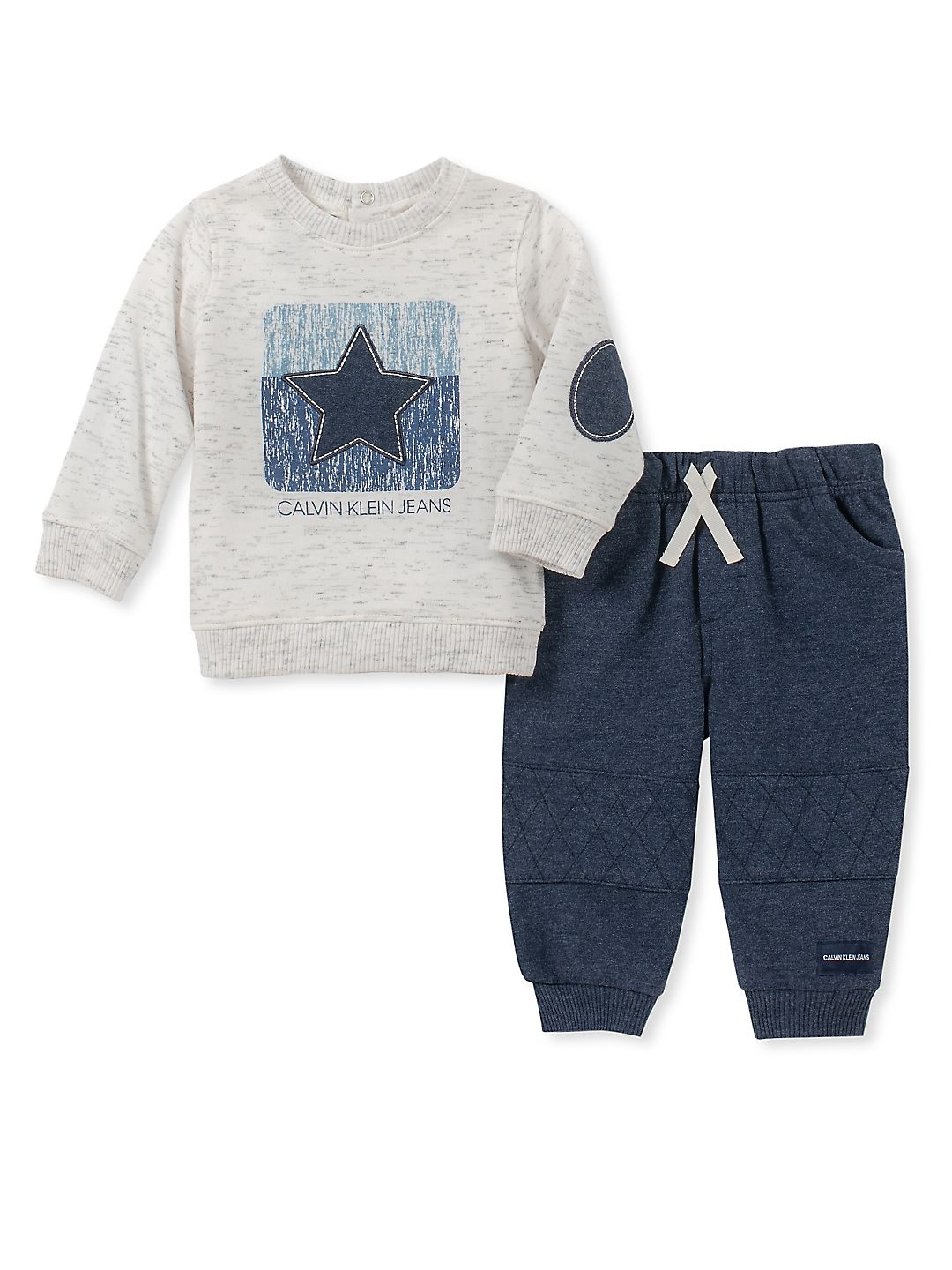 Baby Boy's Two-Piece Top & Pants Set