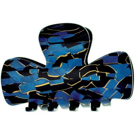 Camila Paris CP2440 Blue Handmade French Hair Clip for Women Carpatica Blue Clips