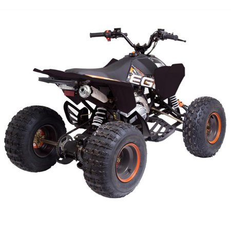 T4B MADMAX JUNIOR ATV 125cc KIDS Dirt Quad Recreational Outdoors, Off-Road, All Terrain, 4 stroke, single-cylinder, air-cooled - Orange - image 4 de 7