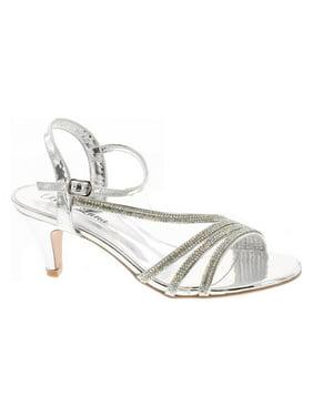 8e6b6ae133ed Product Image Static Footwear Womens Open Toe Low Heel Wedding Prom Evening  Dressy Sandal Shoes