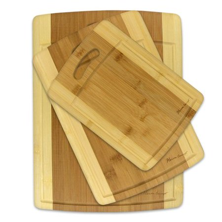 Best Desu, Inc. Heim Concept 3 Piece Organic Bamboo Cutting