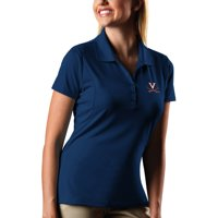 Virginia Cavaliers Antigua Women's Pique Xtra-Lite Polo - Navy