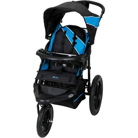Baby Trend XCEL Jogging Stroller, Mosaic Blue