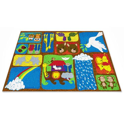 Kid Carpet Noah's Story Sunday School Area Rug