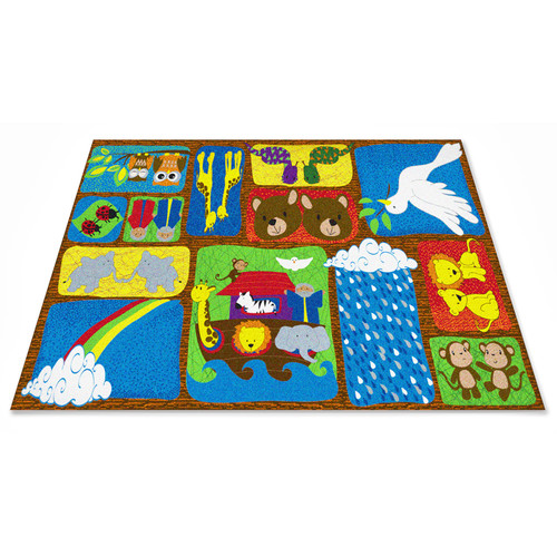 Kid Carpet Noah's Story Sunday School Area Rug