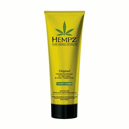 Original Herbal Hair Conditioner - Hempz Original Herbal Conditioner for Damaged & Color Treated Hair 9oz