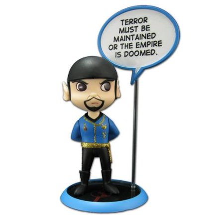 QMX Star Trek: Trekkies: San Diego Comic Con Spock Mirror Mirror Q-Pop Action Figure ()
