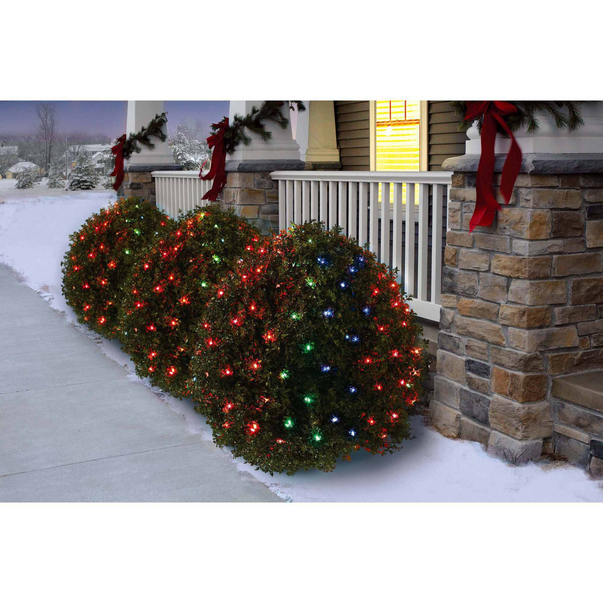holiday time 16 function net christmas lights multi 150 count walmartcom