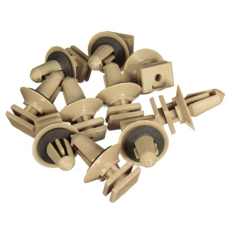 10 x Interior Plastic Clips For BMW Trims Sill Door Entrance Bottom 51477117532 - image 1 of 7