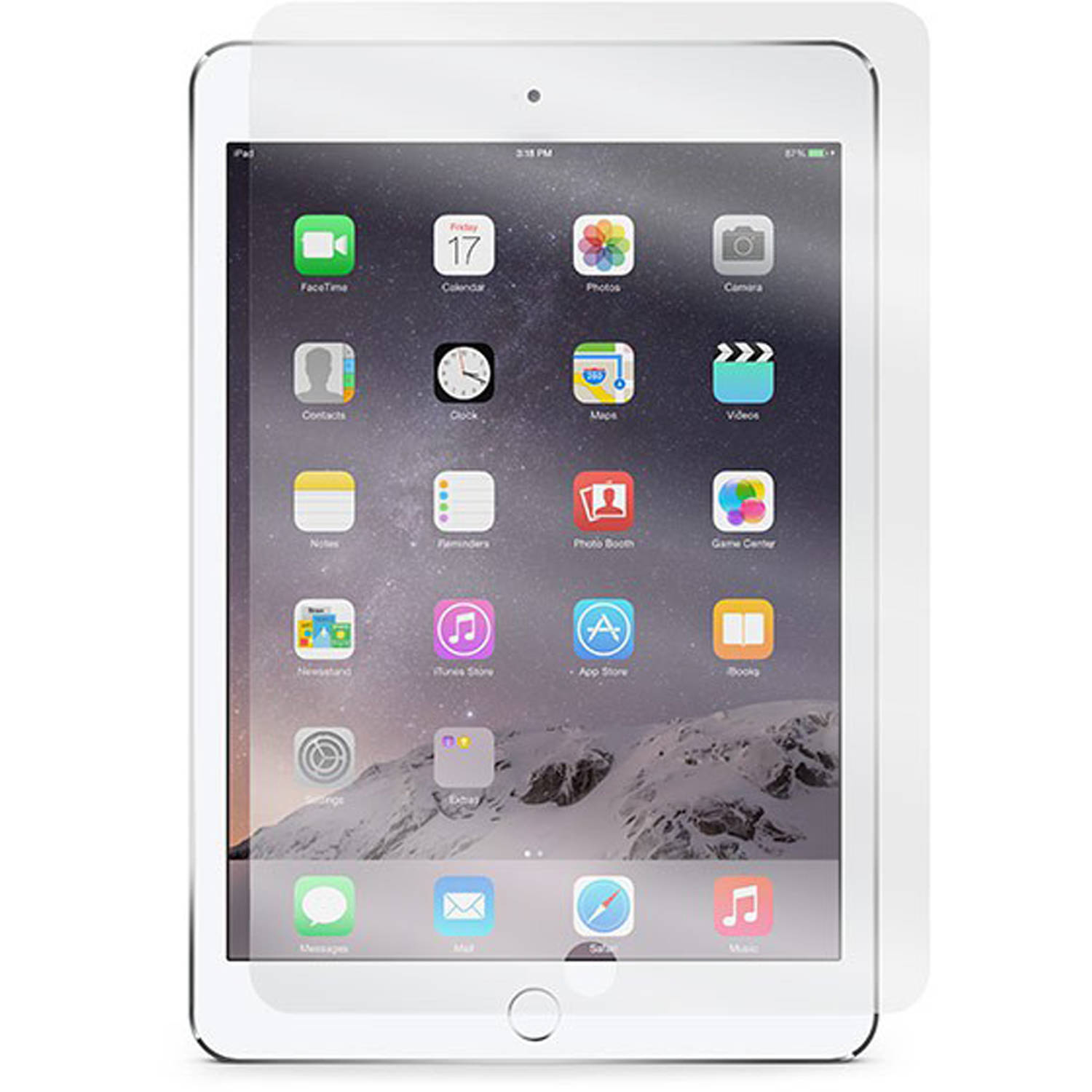 Incipio PLEX Tempered Glass Screen Protector for Apple iPad mini 1/2/3