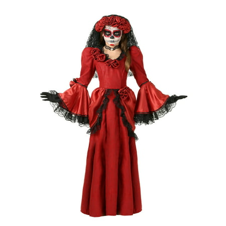 Girl's Day of the Dead Costume - Day Of The Dead Girl Costumes