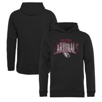 Arizona Cardinals NFL Pro Line by Fanatics Branded Youth Arch Smoke Pullover Hoodie - Black